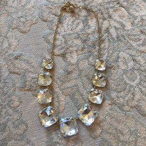 Kate spas diamond crystal necklace